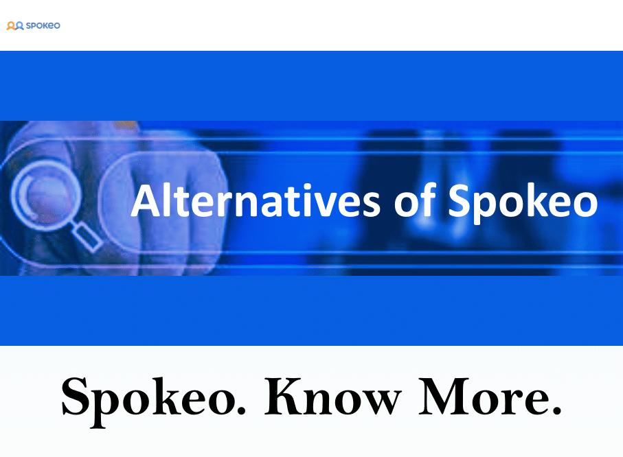 Alternatives of Spokeo