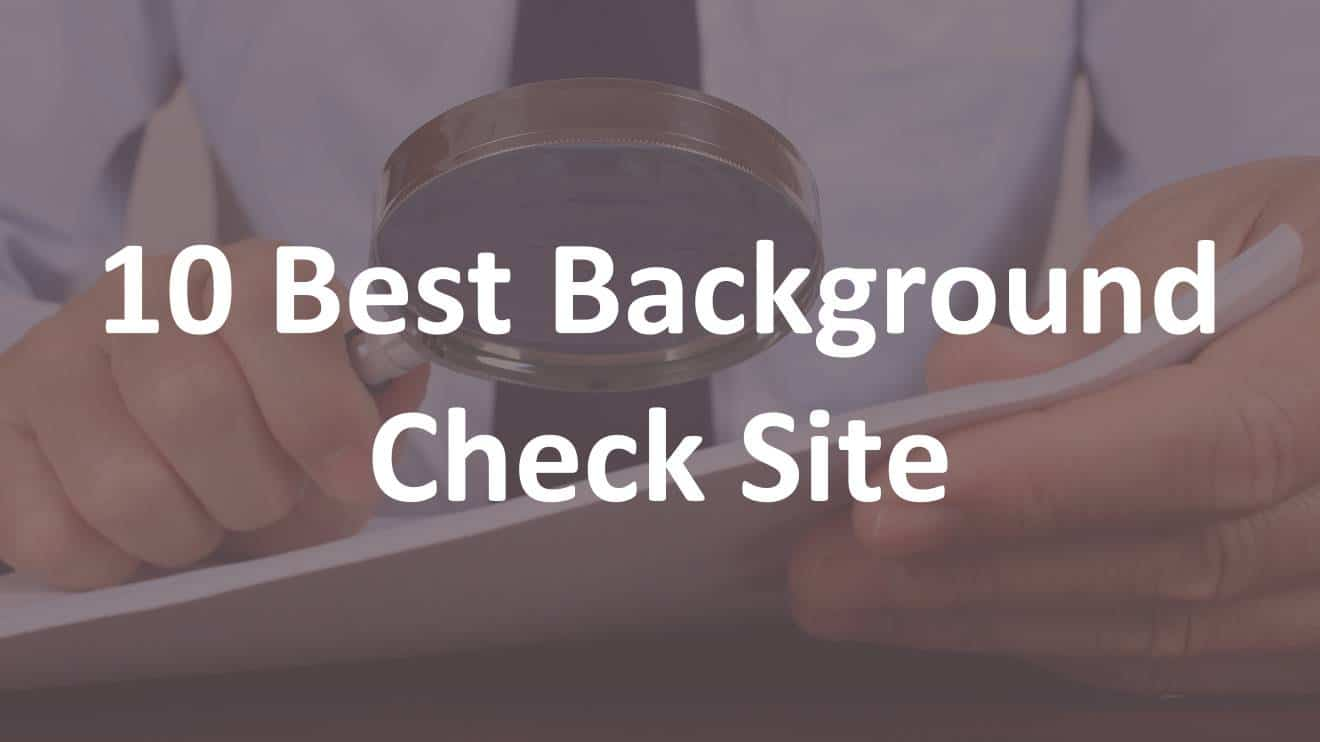 Best Background Check Site