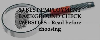 1- best employment background check websites