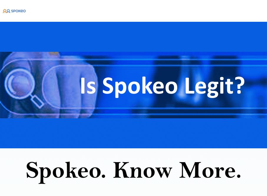 Is Spokeo Legit?