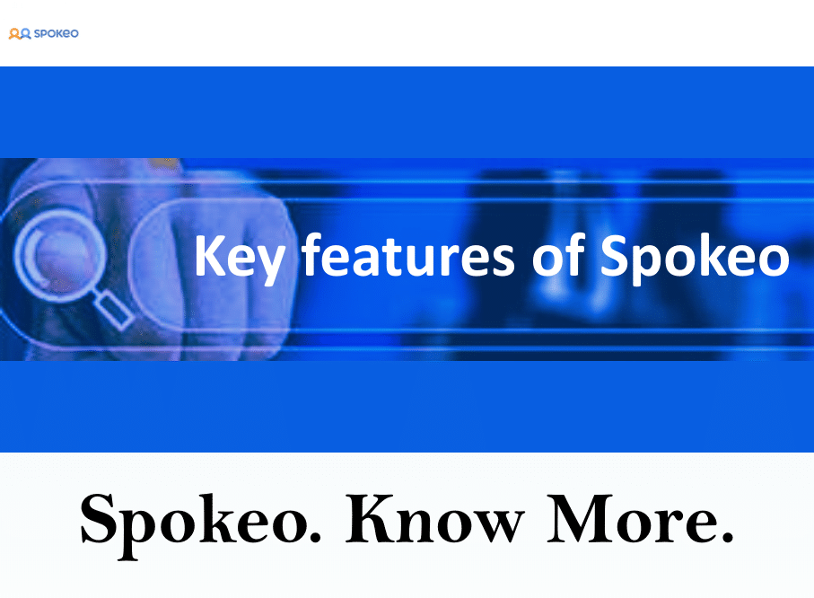 Key features of Spokeo