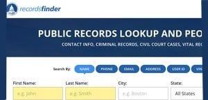 Records Finder.com